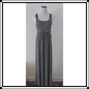 NWT! Calvin Klein Black/White Striped Max Size 8